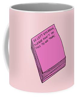 Left Eyebrow Coffee Mug