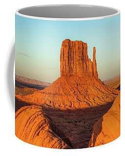Left Mitten Sunset - Monument Valley Coffee Mug