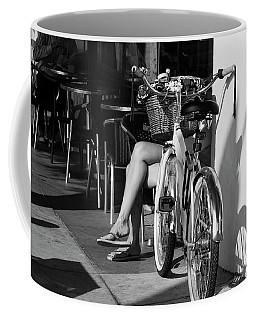 Leg Power - B And W Coffee Mug