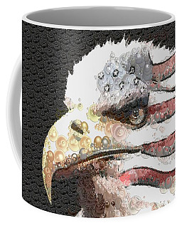 Coffee Mug featuring the painting Legally Unlimited Eagle by Catherine Lott