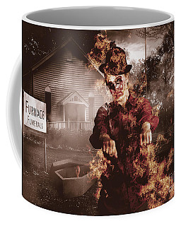 Legend Of The Furnace Funerals Fire Coffee Mug
