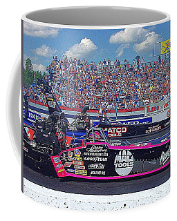 Legends At The Line Coffee Mug