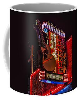 Legends Corner Nashville Coffee Mug by Stephen Stookey