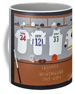 Legends Of New England Coffee Mug