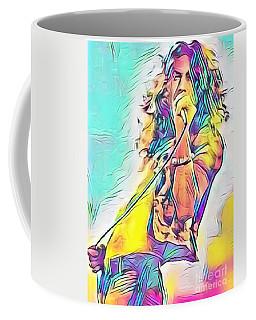 Legends Of Rock - Robert Plant - Ten Years Gone Coffee Mug