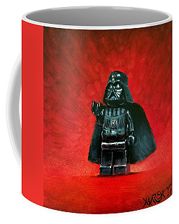 Lego Vader Coffee Mug