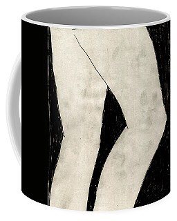 Coffee Mug featuring the mixed media Legs by W And F Kreations