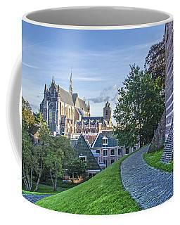 Leiden, The Church And The Castle Coffee Mug