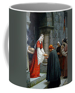 Leighton Edward Blair Charity Of St Elizabeth Of Hungary Coffee Mug