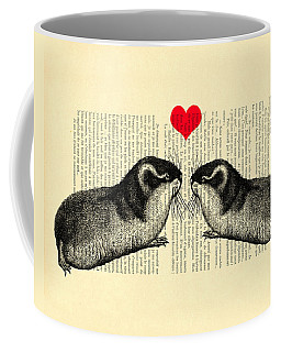 Lemmings In Love Coffee Mug
