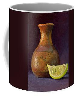 Lemon And Horsehair Vase A First Meeting Coffee Mug