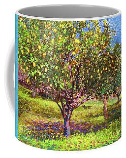 Lemon Grove Of Citrus Fruit Trees Coffee Mug