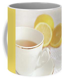 Coffee Mug featuring the photograph Lemon Tea by Lyn Randle