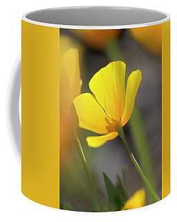 Lemon Yellow Coffee Mug by Sue Cullumber