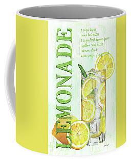 Coffee Mug featuring the painting Lemonade by Debbie DeWitt