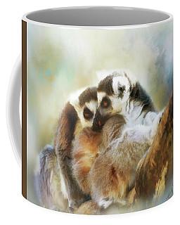 Lemur Cuddle Coffee Mug