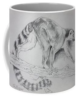 Lemur Sketch Coffee Mug