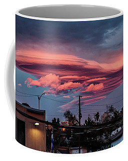 Lenticular Cloud Las Vegas Coffee Mug