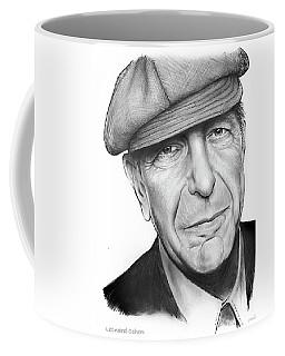 Leonard Cohen Coffee Mug