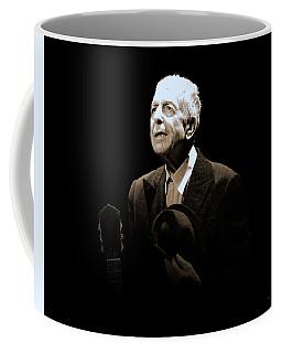 Portrait Of Leonard Cohen Coffee Mug