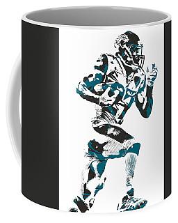 Leonard Fournette Jacksonville Jaguars Pixel Art 11 Coffee Mug