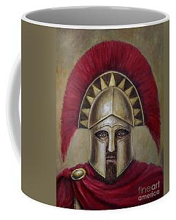 Leonidas I Coffee Mug by Arturas Slapsys