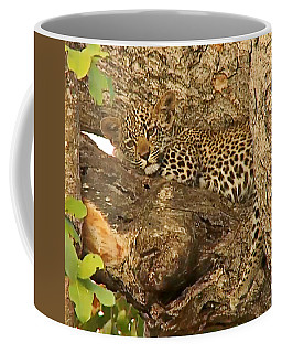 Leopard Cub Coffee Mug