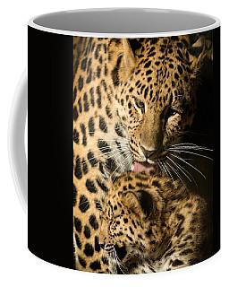 Leopard Cub Love Coffee Mug