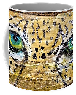 Leopard Eyes Coffee Mug by Ann Michelle Swadener