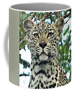 Leopard Face Coffee Mug