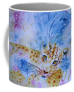 Leopard Hide And Seek Coffee Mug