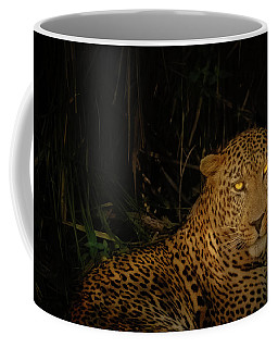 Leopard Hiding Coffee Mug