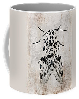 Leopard Moth Minimalist Nature Coffee Mug