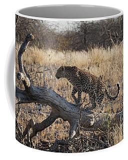 Leopard Tail Coffee Mug