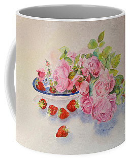 Coffee Mug featuring the painting Les Fruits De L'ete by Beatrice Cloake