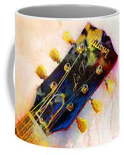 Coffee Mug featuring the painting Les Is More by Andrew King