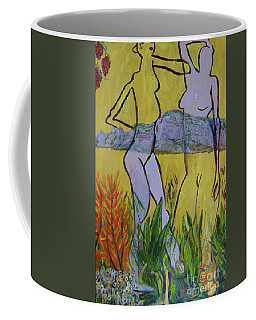 Les Nymphs D'aureille Coffee Mug by Paul McKey