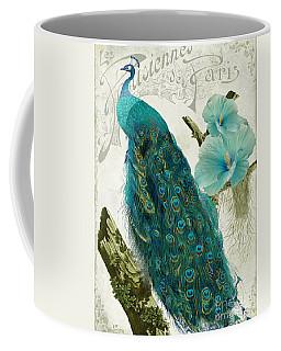 Les Paons Coffee Mug