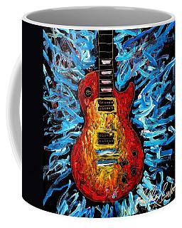Les Paul Explosion Coffee Mug