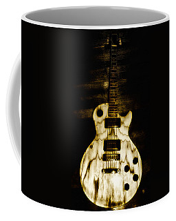 Les Paul Guitar Coffee Mug by Bill Cannon