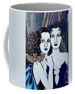 Les Vamperes Bleu Coffee Mug