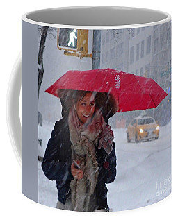 L Esprit De New York - Winter In New York Coffee Mug