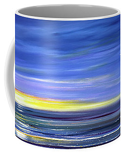 Less Drama Panoramic Sunset Coffee Mug