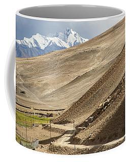 Less Traveled Coffee Mug by Hitendra SINKAR