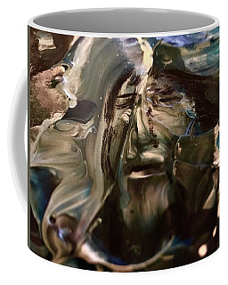 Coffee Mug featuring the painting Let Go The Anchor by Kicking Bear Productions