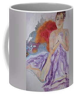 Coffee Mug featuring the painting Let It Burn by Beverley Harper Tinsley