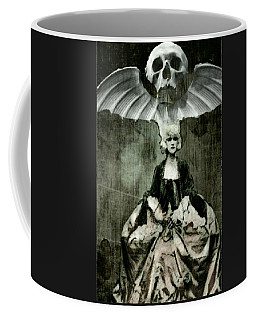 Coffee Mug featuring the digital art Let Them Eat Cake by Delight Worthyn