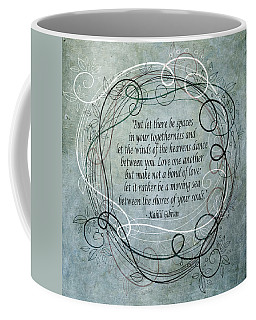 Let There Be Spaces Coffee Mug