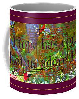 Let Us Adore Him Coffee Mug