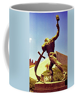 Let Us Beat Our Swords Into Plowshears Coffee Mug